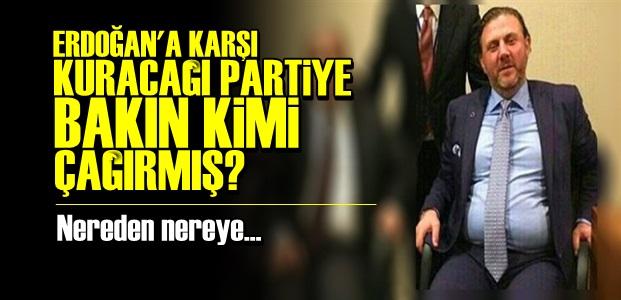 YİĞİT BULUT 'PARTİSİNE' DAVET ETMİŞ AMA...