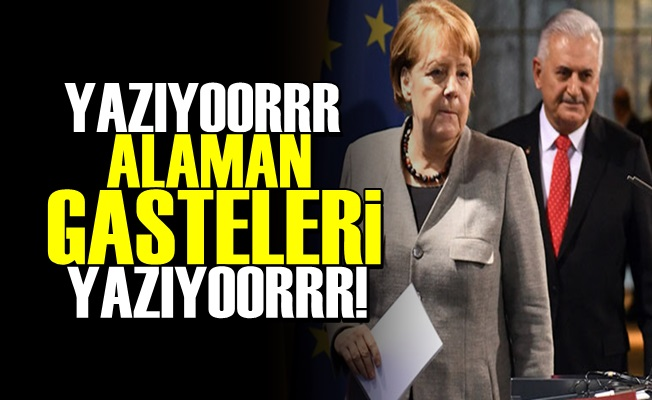 ALAMAN GASTELERİ YAZIYOORR!
