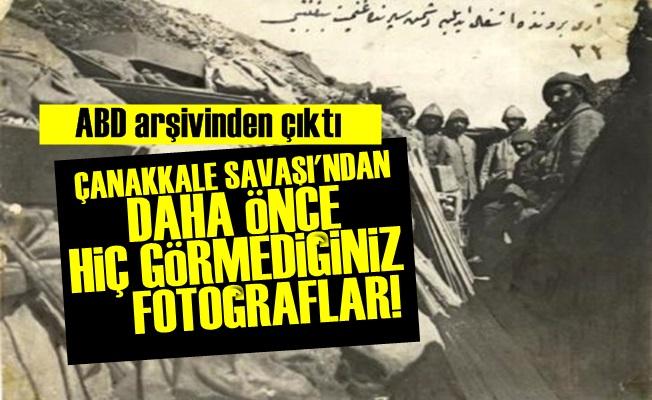 ÇANAKKALE SAVAŞI'NIN HİÇ GÖRÜLMEMİŞ FOTOĞRAFLARI!