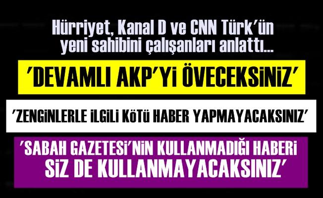 HÜRRİYET'İN YENİ SAHİBİNİN SKANDAL TALİMATLARI!