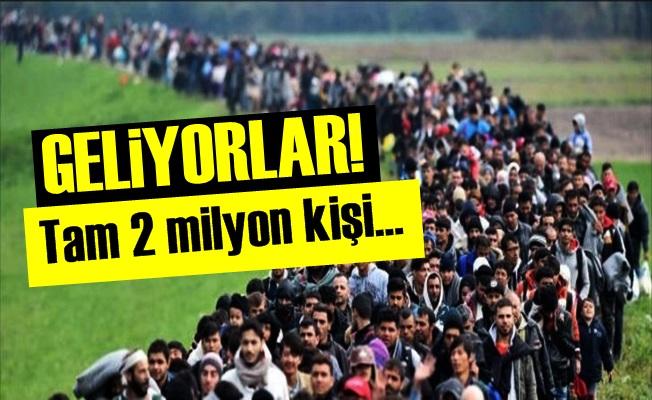 BM: 2 MİLYON KİŞİ TÜRKİYE YOLUNDA...