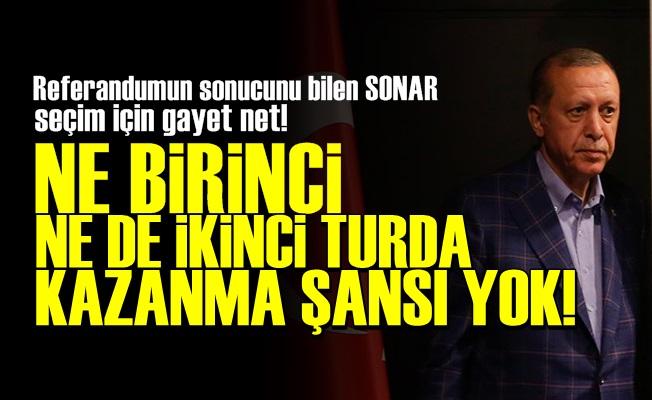 'İKİ TURDA DA KAZANMA ŞANSI YOK'