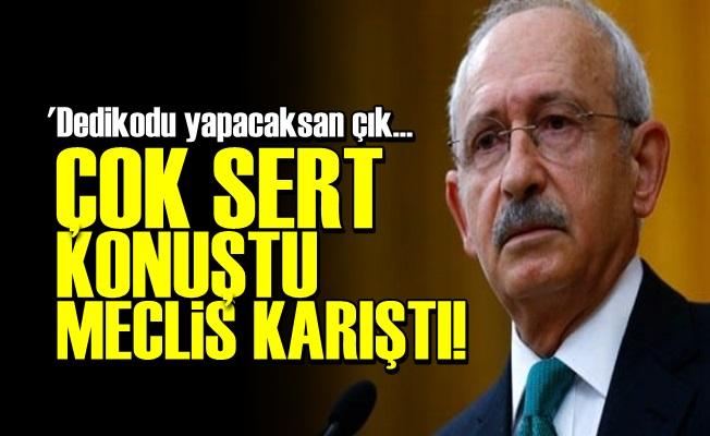 KILIÇDAROĞLU KONUŞTU, AKP ÇILDIRDI!