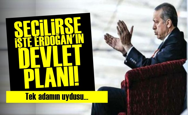 İşte Erdoğan'ın Devlet Planı!