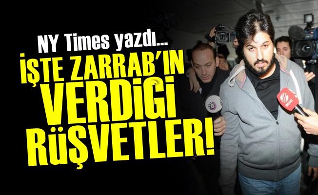 NY Times, Zarrab'ın Rüşvetlerini Açıkladı!