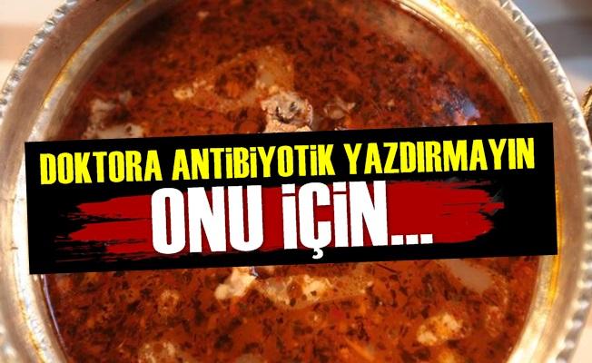 Tamamen Doğal Antibiyotik!