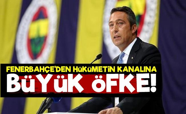 Fenerbahçe'den AKP'nin Kanalına Büyük Öfke!