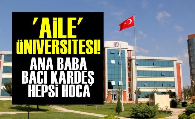 Devlet Değil Aile Üniversitesi!
