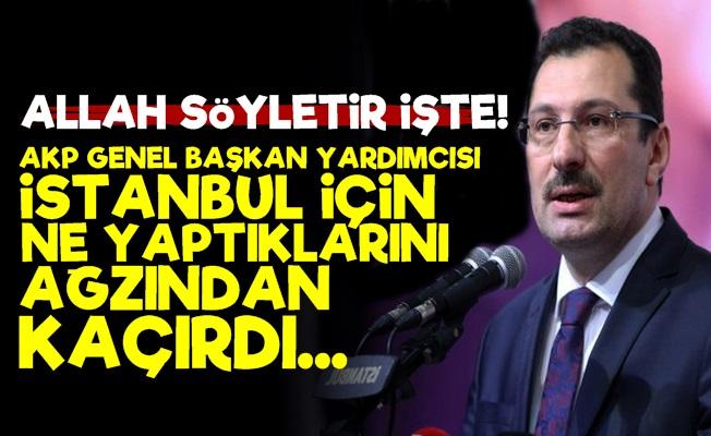 İstanbul İçin Ne Yaptıklarını Ağzından Kaçırdı!