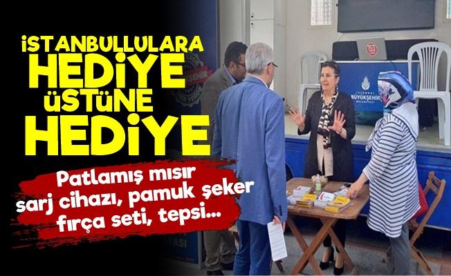 İstanbullara 50 Milyon Liralık Hediye!