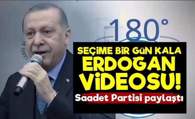Seçime Bir Gün Kala Erdoğan Videosu!