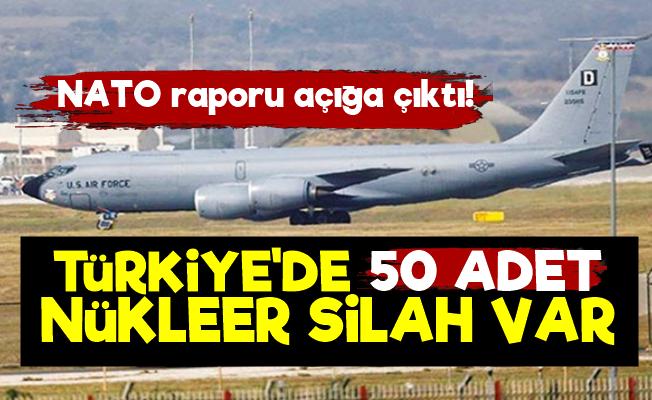 150 Nükleer Silahın 50'si Türkiye'de!