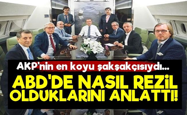 ABD'de AKP'lilerin Rezaletini Anlattı!