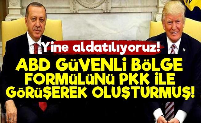 ABD Güvenli Bölgeyi PKK İle Oluşturmuş!