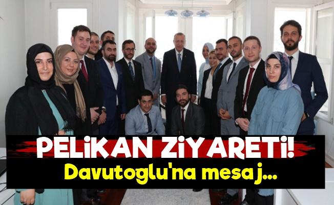 Erdoğan'dan Pelikancılara Ziyaret!