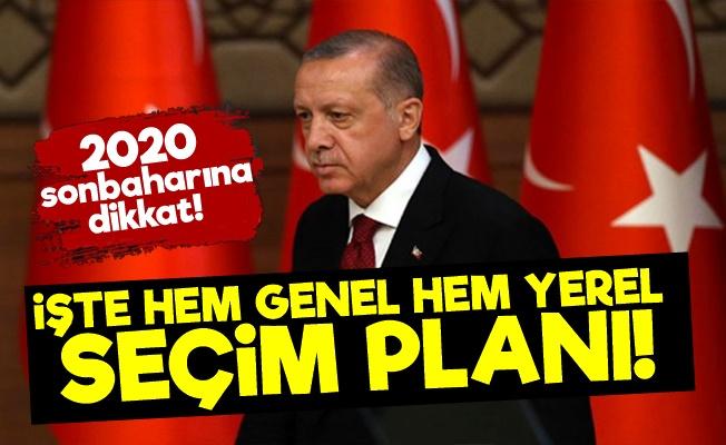 İşte Erdoğan'ın Yerel Ve Genel Seçim Planı!
