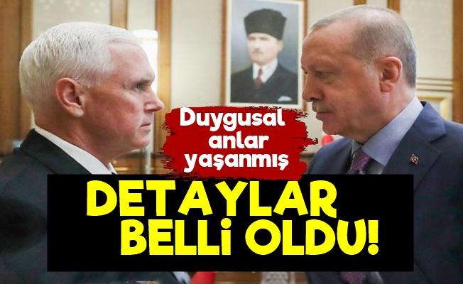 Erdoğan-Pence Görüşmesinde Detaylar Belli Oldu!
