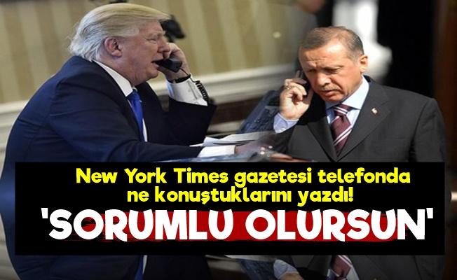 İşte Erdoğan ve Trump'ın Telefon Konuşması!
