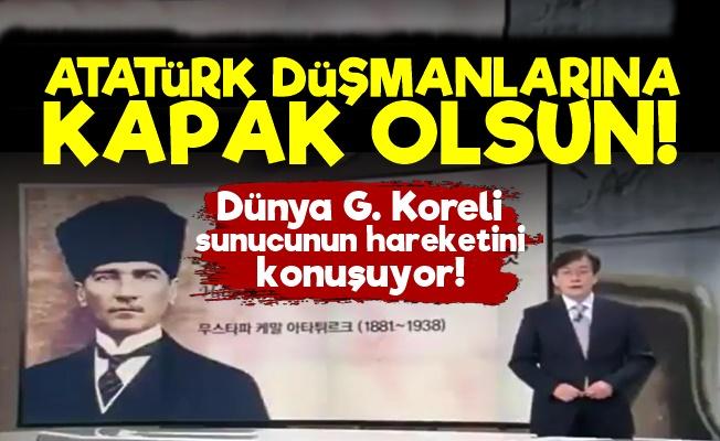 Dünya G. Koreli Sunucunun 10 Kasım Hareketini Konuşuyor!