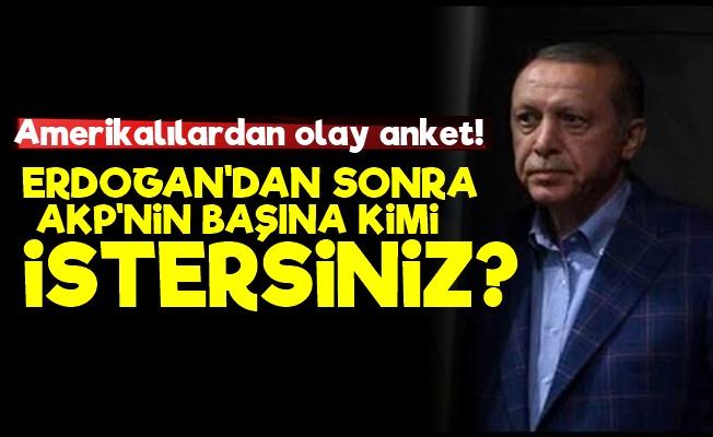 ABD Erdoğan'ın Yerine İsim Arıyor!