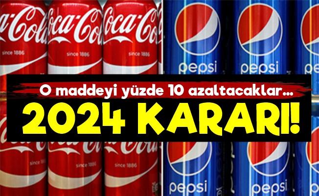 Coca Cola Ve Pepsi'den 2024 Kararı!