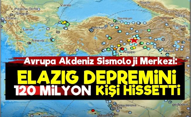 AASM: Depremi 120 Milyon Kişi Hissetti
