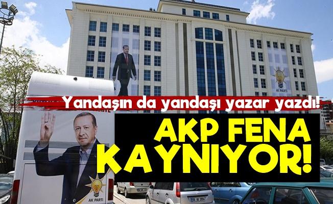 AKP'deki Krizi Yazdı!