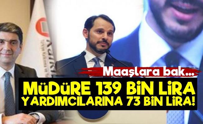 Müdüre 139 Bin Lira Yardımcılarına 73'er Bin Lira Maaş!