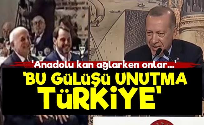'Neden Gülüyorsun Sayın Erdoğan?'