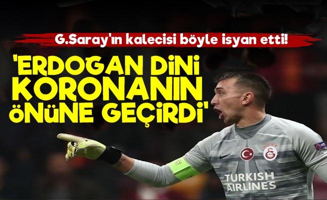 Muslera'dan Erdoğan'a Korona Sözleri!