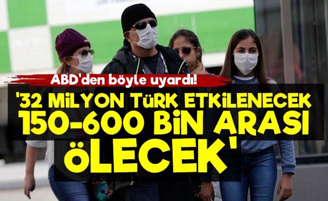Prof. Başer: Korona'dan 32 Milyon Türk Etkilecek