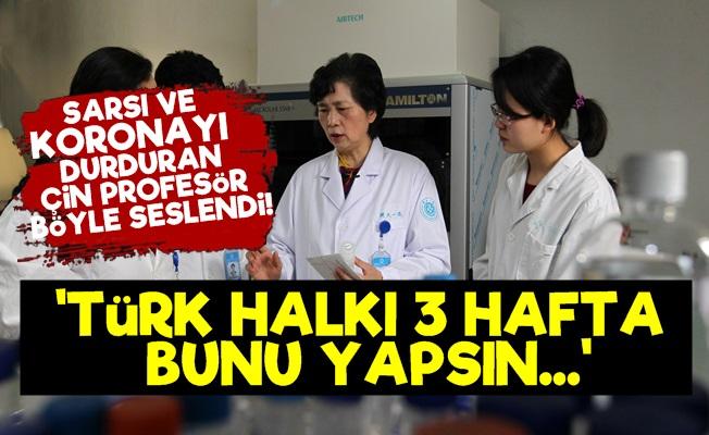 Profesör Lanjuan: Türk Halkı 3 Hafta Boyunca...