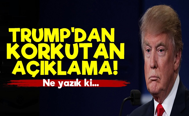 Trump'tan Korkutan Korona Açıklaması!