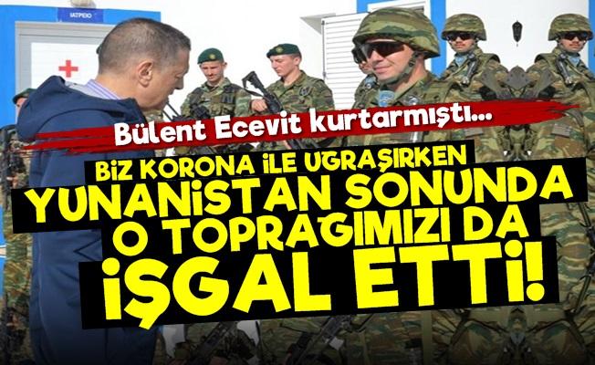 Yunanistan O Toprağımızı da İşgal Etti!