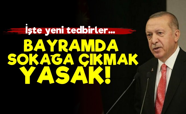 Erdoğan Yeni Tedbirleri Açıkladı!