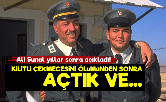 Kemal Sunal'ın Gizli Çekmecesinde Neler Vardı?