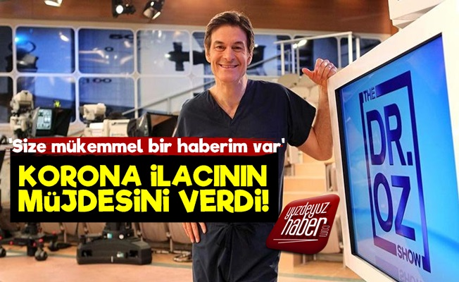 Mehmet Öz'dan Korona İlacı Müjdesi!