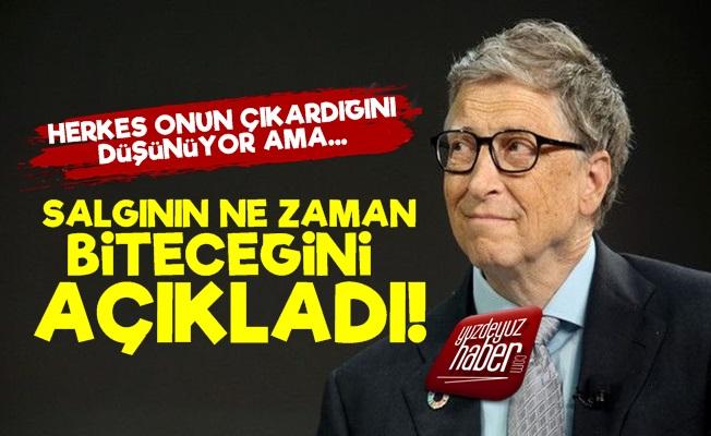 Bill Gates, Salgının Bitişi İçin Yine Tarih Verdi!