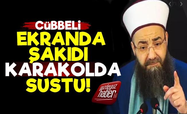 Cübbeli Ahmet Ekranda Şakıdı, Karakolda Sustu!