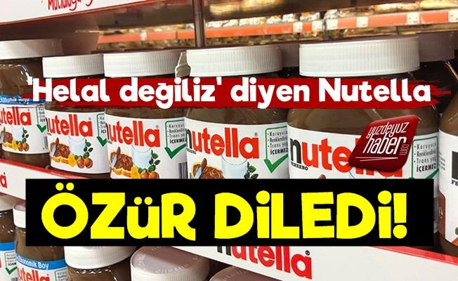 'Helal Olmadığını' Söyleyen Nutella Özür Diledi!