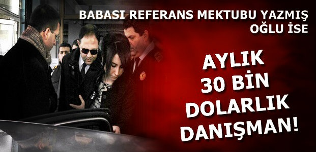 30 BİN DOLARA DANIŞMANLIK