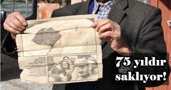75 YILDIR SAKLIYOR!