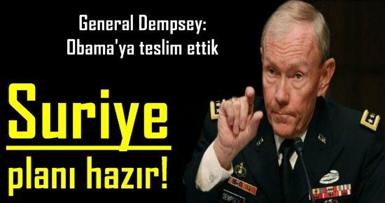 ABD, SURİYE PLANI'NI HAZIRLADI, TOP OBAMA'DA!