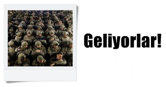 ABD TÜRKİYE'YE ASKER YOLLUYOR!