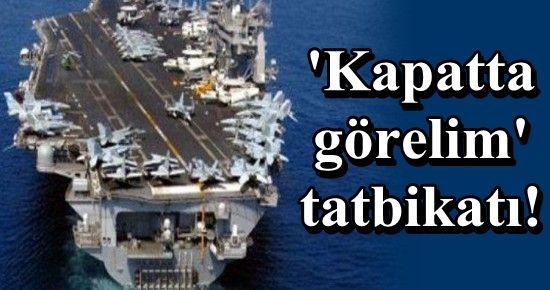 ABD VE 4 ARAP ÜLKESİ HÜRMÜZ BOĞAZINDA...