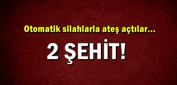 ACI HABER CİZRE'DEN: 2 ŞEHİT...