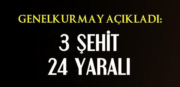 ACI HABERİ TSK DUYURDU!