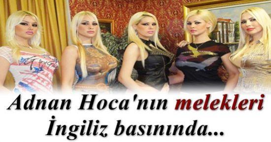 ADNAN HOCA'NIN MELEKLERİ HABER OLDU!