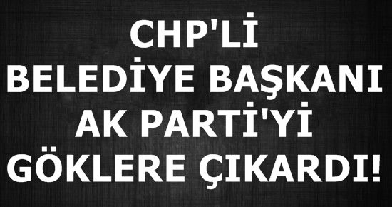 'AK PARTİ' DEMOKRATİK 'CHP ' FAŞİST