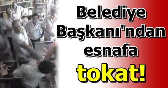 AK PARTİLİ BAŞKAN'DAN ESNAFA TOKAT...